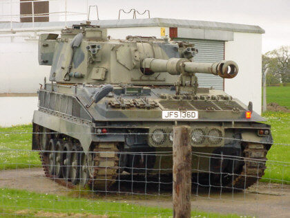 abbot self propelled gun picture photographs