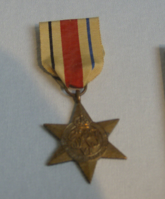 africa star militaray medal picture