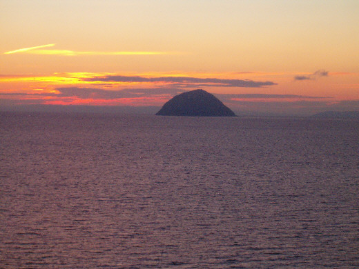 ailsa craig picture photograph