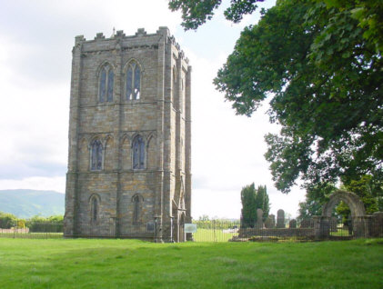 cambuskenneth abbey ruins picture photograph