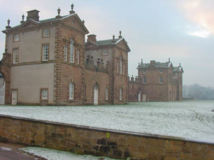 chatelherault country house hunting lodge picture photograph scotland