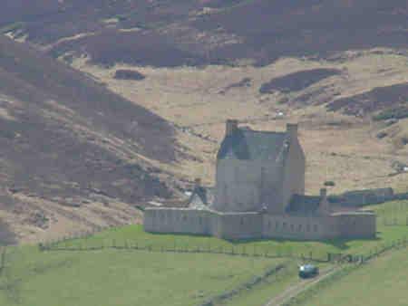 corgaff castle scotland picture photograph