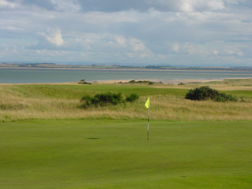 dornoch golf club picture photograph