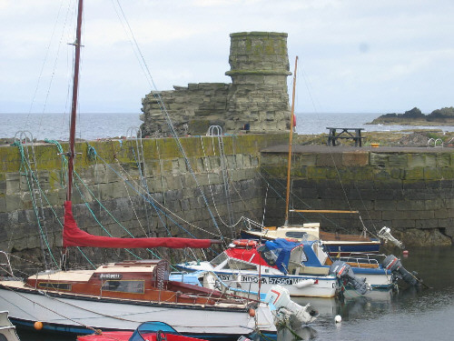 dunure harbour picture