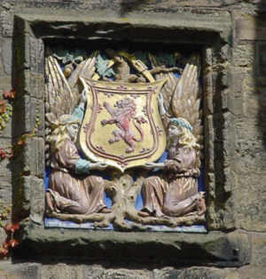 Falkland palace Picture