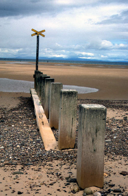findhorn beach photograph picture