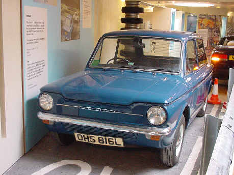 hillman imp motor car picture