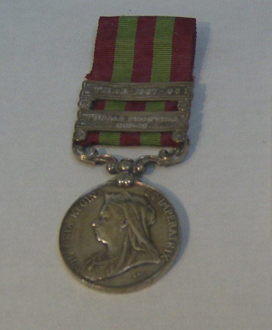 india campaign medal 1895 1908 british military medals