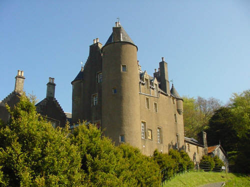 scottish kelburn castle photograph