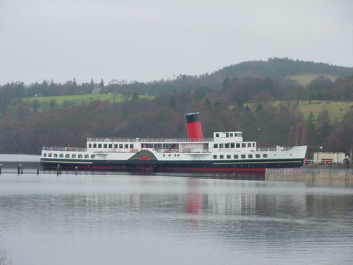 maid of the loch paddle steamer picture