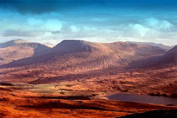rannoch moor scotland picture photograph
