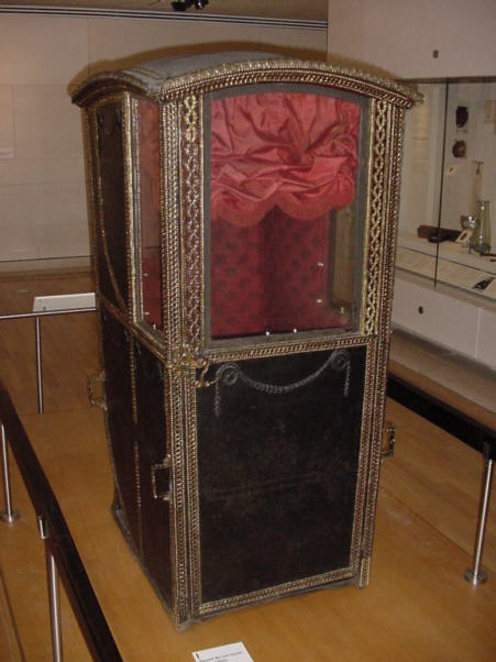 sedan chair photograph picture old transport