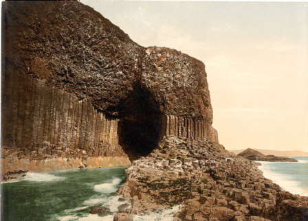 staffa fingals cave picture photograph