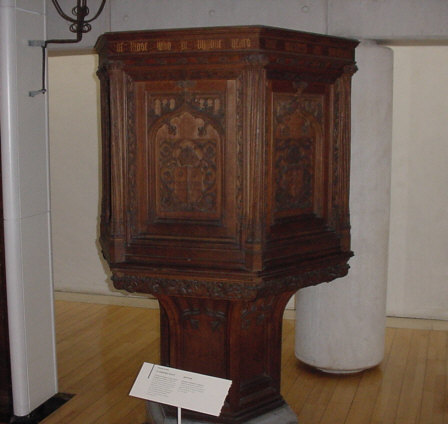 st andrews church pulpit picture photograph