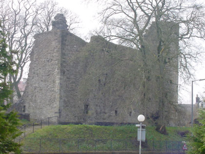 strathaven castle picture photograph